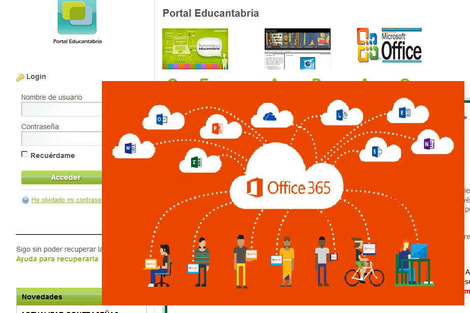 educantabria y office365